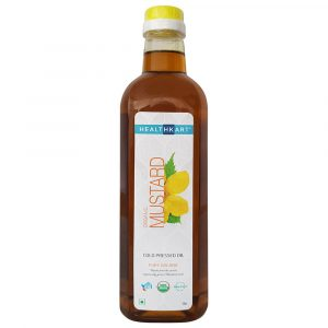 Health Kart Cold Pressed Organic Mustard Oil