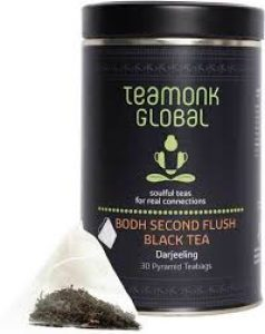 Teamonk Global Darjeeling Bodh Second Flush Organic Black Tea