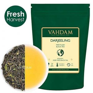 VAHDAM Darjeeling First Flush Organic Loose-Leaf Black Tea